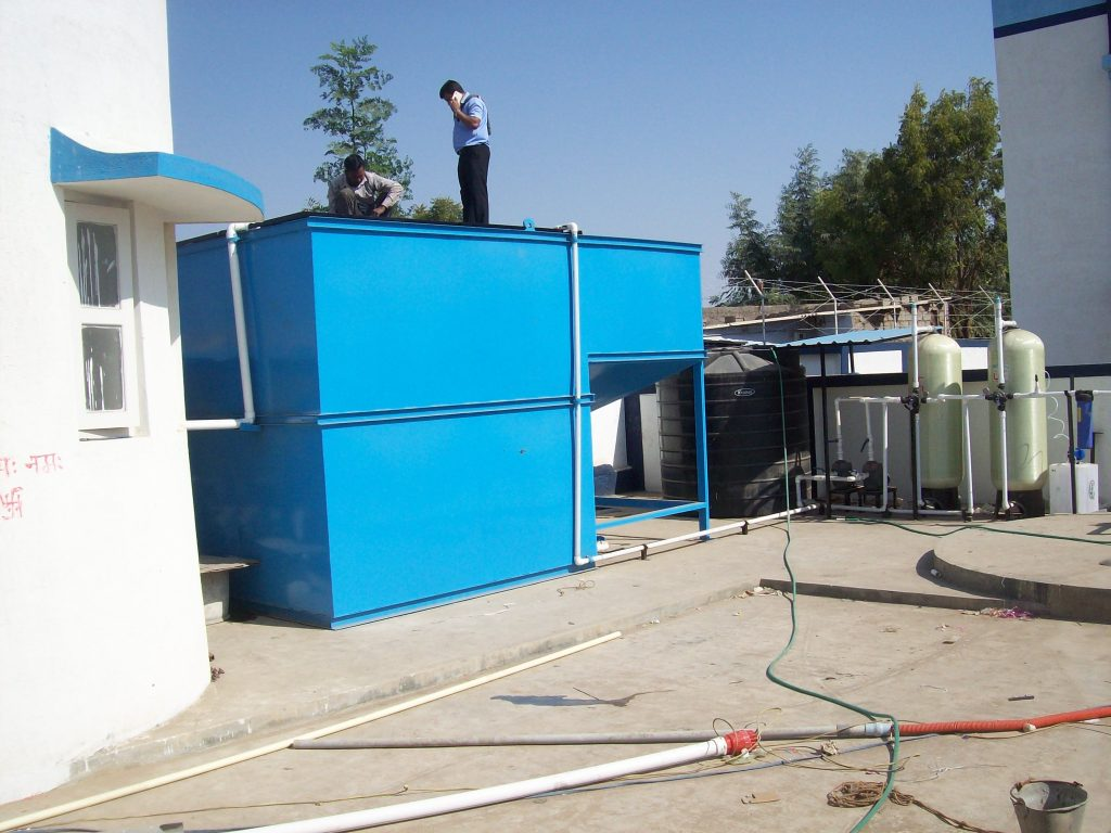 Waste Water Technologies-Sewage Treatment Plant 1.